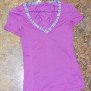 Lululemon shirt short sleeve swiftly top 2 XS